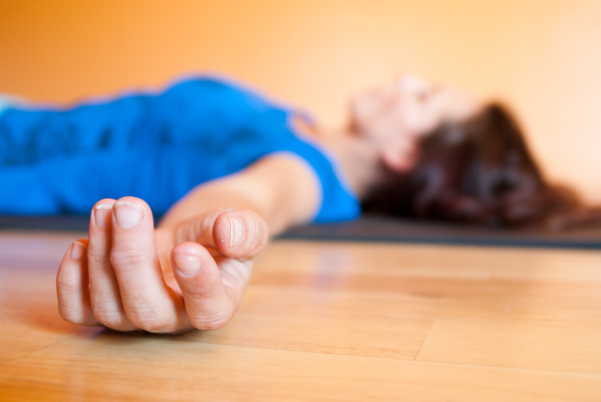yoga savasana pose