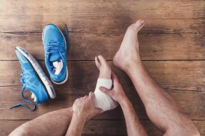 runner with plantar fasciitis