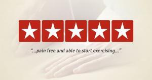 pain free and exercising